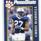 CHRIS HARRELL 2005 Penn State Second Mile College card PRE-ROOKIE
