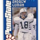 ANDREW GUMAN 2003 Penn State Second Mile SAFETY