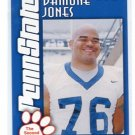 DAMONE JONES 2003 Penn State Second Mile TACKLE