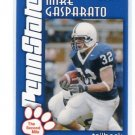 MIKE GASPARATO 2003 Penn State Second Mile RB