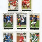 QUARTERBACK SALE:  (8) 2005 Topps 50th Anniversary QB lot