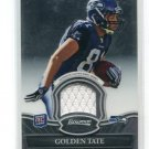 GOLDEN TATE 2010 Bowman Sterling JERSEY Rookie NOTRE DAME IRISH Seahawks