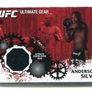 ANDERSON SILVA 2010 Topps UFC Authentic Fighter-Worn Gear