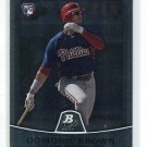 DOMINIC DOMONIC BROWN 2010 Bowman Platinum #6 ROOKIE Phillies