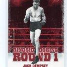 JACK DEMPSEY 2010 Ringside Boxing TKO Round One 1