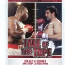 LARRY HOLMES vs. GERRY COONEY 2010 Ringside Tale of the Tape