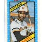 GEORGE BRETT 1980 Kellog's 3-D Super Stars #24 Orioles BV $4