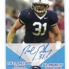 PAUL POSLUSZNY 2006 TK Legacy 2005-06 All-American AUTO #AA19 PENN STATE Bills #d/100