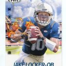 JAKE LOCKER 2011 Sage Hit Big Time ROOKIE INSERT Washington Huskies TENNESSEE Titans QB