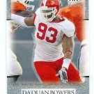 Da'QUAN BOWERS 2011 Sage Hit Artistry SILVER SP ROOKIE Clemson Tigers TAMPA BAY TB Bucs