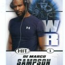 DeMARCO SAMPSON 2011 Sage Hit ROOKIE San Diego State  ARIZONA CARDINALS