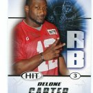DELONE CARTER 2011 Sage Hit ROOKIE Syracuse Orange COLTS