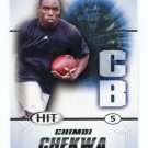 CHIMDI CHEKWA 2011 Sage Hit ROOKIE Ohio State Buckeyes OAKLAND RAIDERS