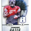 EDMUND GATES 2011 Sage Hit ROOKIE  MIAMI DOLPHINS