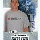 STEPHON SKELTON 2011 Sage Hit SILVER SP ROOKIE