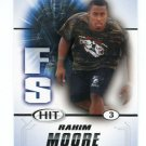 RAHIM MOORE 2011 Sage Hit ROOKIE USC Trojans  DENVER BRONCOS