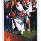 C.J. CJ SPILLER 2010 Press Pass #7 Rookie BILLS Clemson Tigers