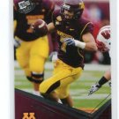 ERIC DECKER 2010 Press Pass #23 ROOKIE Minnesota Golden Gophers BRONCOS