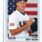 MATT OLSON 2010 Bowman USA Baseball ROOKIE #BDPP104