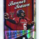 GRAHAM HARRELL 2009 Press Pass Banner Season #BS-6 ROOKIE Texas Tech RED RAIDERS QB