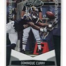 DOMINIQUE CURRY 2010 Panini Leaf Certified New Generation ROOKIE Rams #d/999