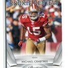 MICHAEL CRABTREE 2010 Panini Playoff Prestige ROOKIE REVIEW #12 Texas Tech 49ers