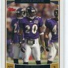 ED EDWARD REED 2006 Topps #196 Baltimore Ravens MIAMI CANES Hurricanes