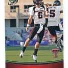 GRAHAM HARRELL 2009 Press Pass #5 ROOKIE Texas Tech RED RAIDERS QB