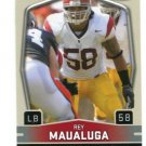REY MAUALUGA 2009 Sage Hit GLOSSY SP #99 ROOKIE Bengals USC TROJANS