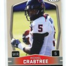 MICHAEL CRABTREE 2009 Sage Hit #5 Low Series ROOKIE Texas Tech 49ers