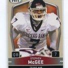 STEPHEN McGEE 2009 Sage Hit  #70 ROOKIE Texas A& M Aggies COWBOYS QB