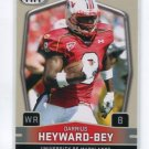 DARRIUS HEYWARD-BEY 2009 Sage Hit #8 ROOKIE Raiders MARYLAND Terps