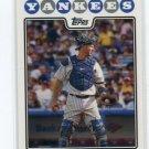 JORGE POSADA 2008 Topps #297 New York NY Yankees