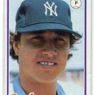 RICH GOSSAGE 1978 Topps Burger King #10 New York NY Yankees