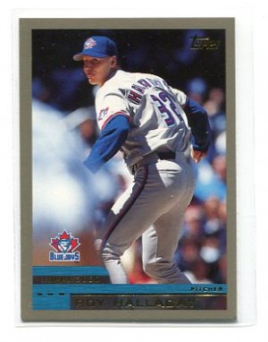 ROY HALLADAY 2000 Topps #186 Blue Jays PHILLIES
