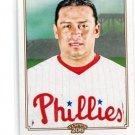 CARLOS RUIZ 2010 Topps T206 #19 Phillies