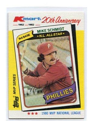MIKE SCHMIDT 1982 K-Mart #39 Phillies