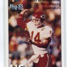 TODD BLACKLEDGE 2008 Big 33 OHIO High School Chairman PENN STATE Kansas City KC Chiefs QB