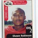 SHAWN ROBINSON 1998 Big 33 Pennsylvania High School card PITT PANTHERS