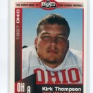 KIRK THOMPSON 1997 Big 33 Ohio High School card CINCINNATI BEARCATS