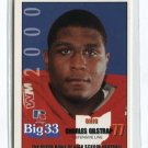 CHARLES GILSTRAP 2000 Big 33 Ohio High School card ILLINOIS Illini