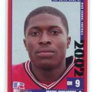 MARK PHILMORE II 2002 Big 33 Ohio High School card NORTHWESTERN Wildcats