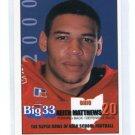 KEITH MATTHEWS 2000 Big 33 Ohio High School card MINNESOTA Golden Gophers
