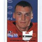 JEFF JD KENNARD 2000 Big 33 Ohio High School card CHICAGO CUBS Baseball