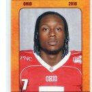 VERLON REED 2010 Big 33 Ohio High School card OHIO STATE Buckeyes QB / WR