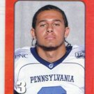 KEVIN WEATHERSPOON 2010 Big 33 Pennsylvania High School card PITT Panthers WR / CB