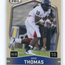 MIKE THOMAS 2009 Sage Hit #90 ROOKIE Arizona Wildcats JACKSONVILLE JAGUARS