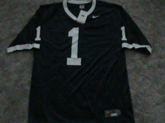Rob Bolden / Nick Sukay NEW Penn State Nittany Lions NKE Football Jersey XL HOME BLUE #1 Tags $60