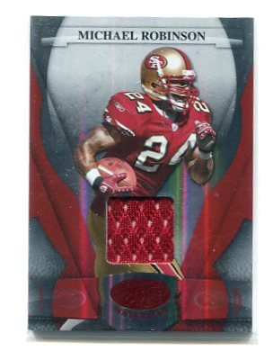 MICHAEL ROBINSON 2006 Leaf Certified Materials RED SP JERSEY ROOKIE Penn State 49ers QB #d/150
