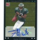 TONY HUNT 2007 Topps Chrome ROOKIE AUTO Penn State EAGLES